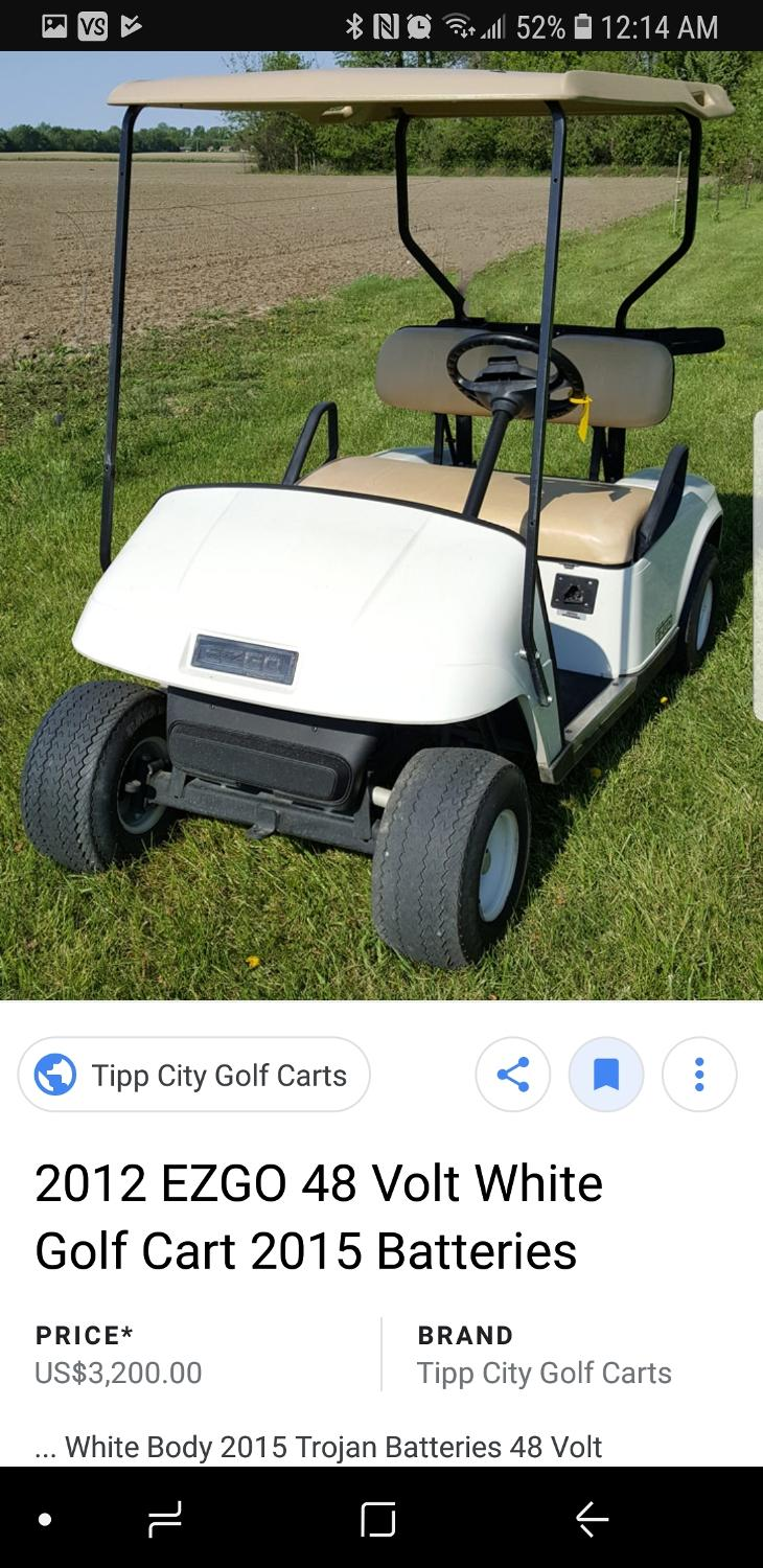 Find more Iso - A Golf Cart!! for sale at up to 90% off Golf Cart Tipp City on golf carts ohio, golf carts philadelphia, golf carts covington, golf carts austin,