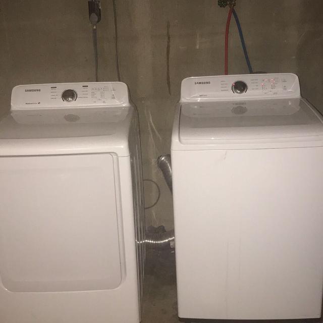 Washer Dryer Samsung Energy Efficient Self Clean Moisture Sense