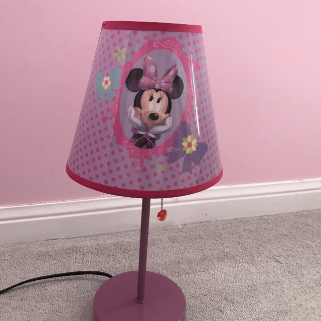 Find more euc minnie mouse lamp works perfectly 5 for sale at euc minnie mouse lamp works perfectly 5 aloadofball Image collections