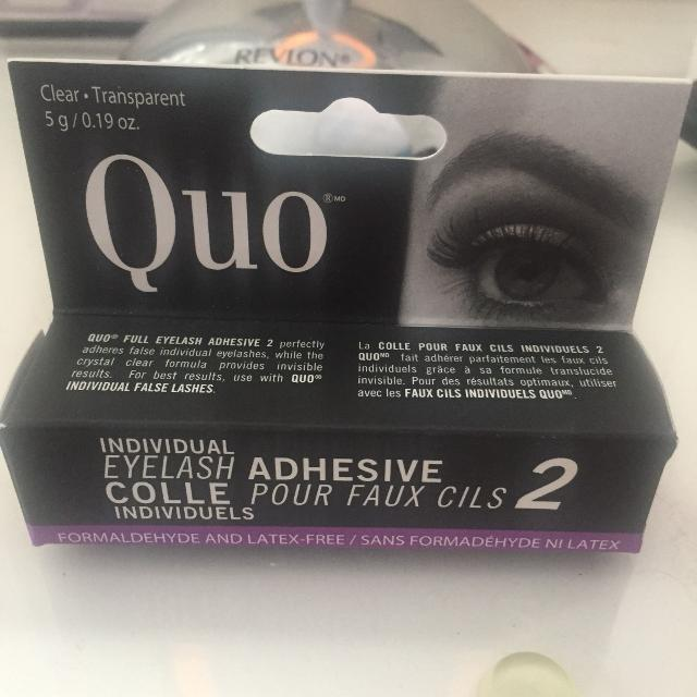 f4a0fe6d2bc Find more Quo Eyelash Adhesive Bnip for sale at up to 90% off