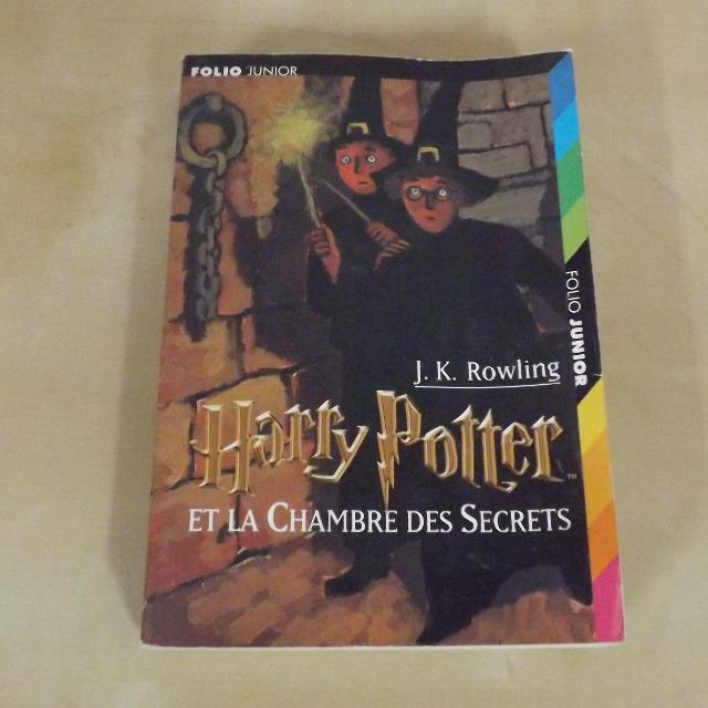 Harry Potter Et La Chambre Des Secrets J K Rowling Folio Junior