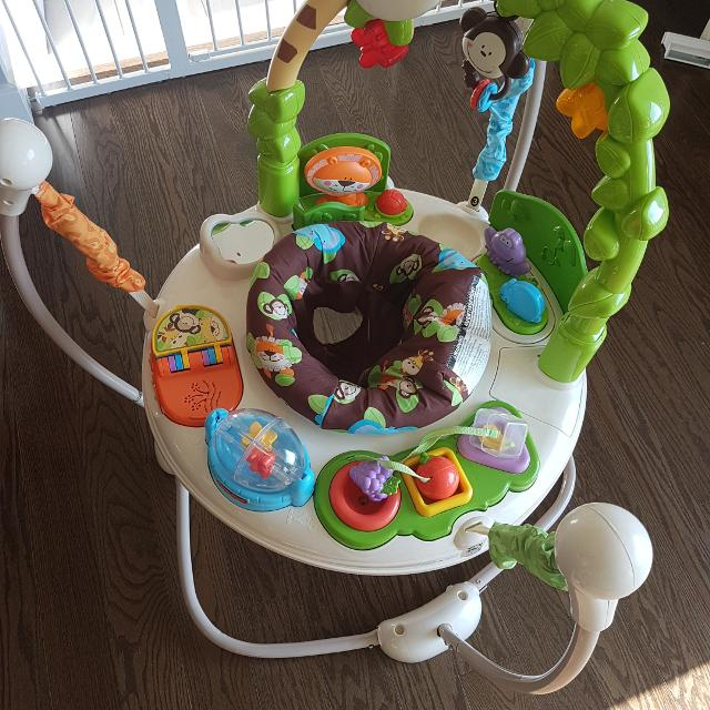 ec6b2490d1fe Find more Fisher Price Go Wild Jumperoo for sale at up to 90% off
