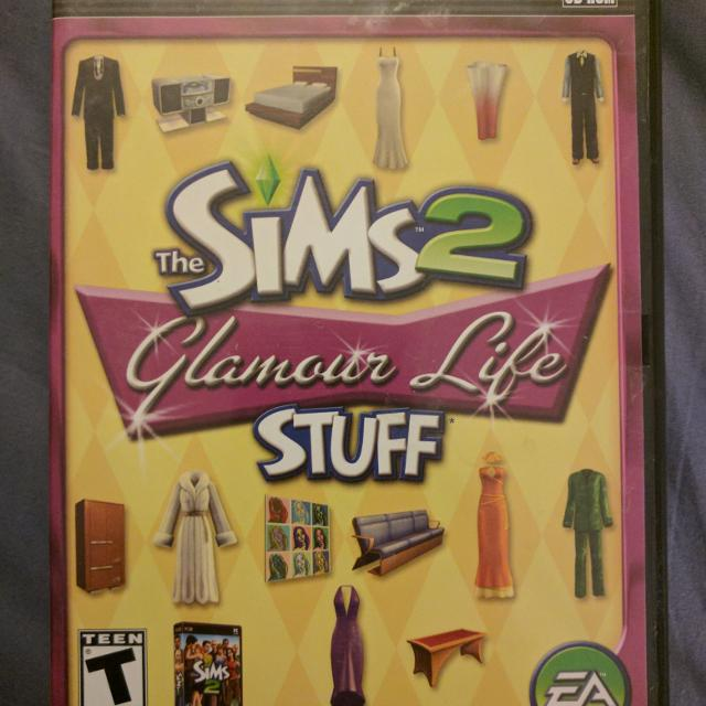 The SIMS 2 Glamour Life Stuff PC Game