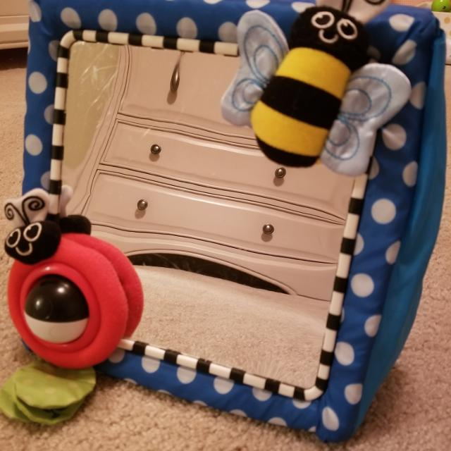Best Sassy Crib And Floor Mirror For Baby for sale in Hendersonville ...