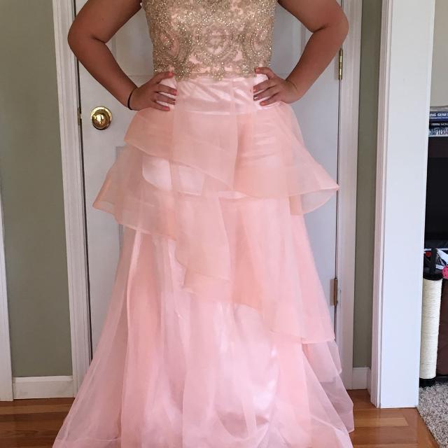 Best Blush Two Piece Prom Dress for sale in Jefferson City, Missouri ...