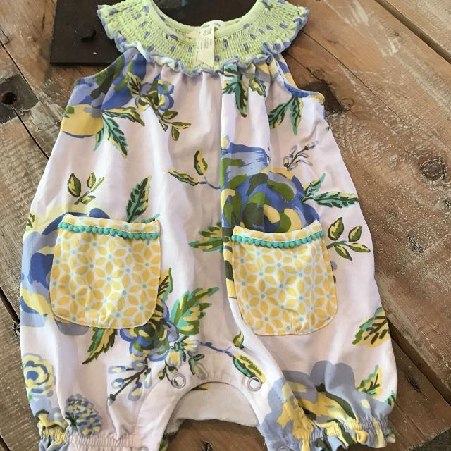 f24dc40ac1c4 Find more Adorable Matilda Jane Clothing Mjc Flowered Romper Size 12 ...