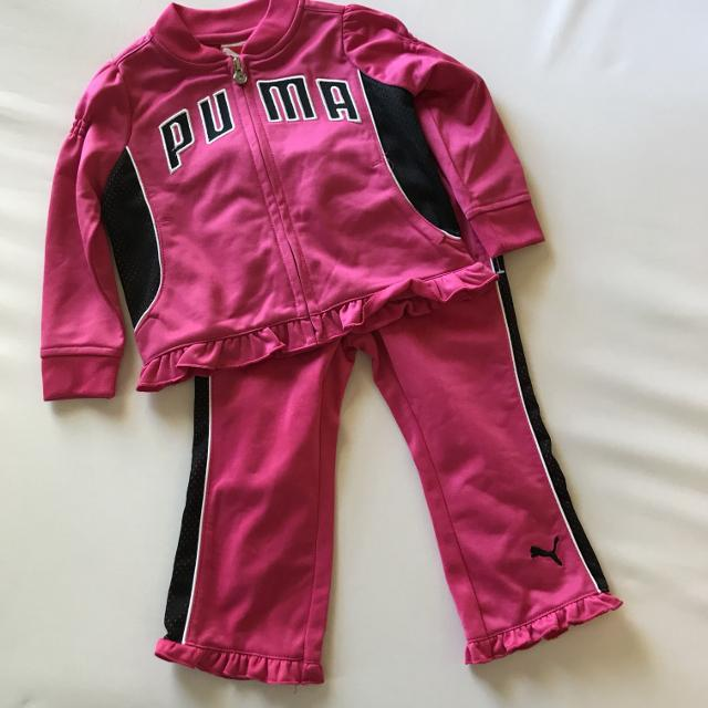 9445124d36d9 Find more Puma Baby Girls Track Outfit 18 Months for sale at up to ...