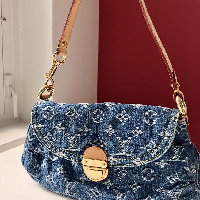 Best Louis Vuitton Denim Mini Pleaty for sale in Yorkville c7336ea904e2d