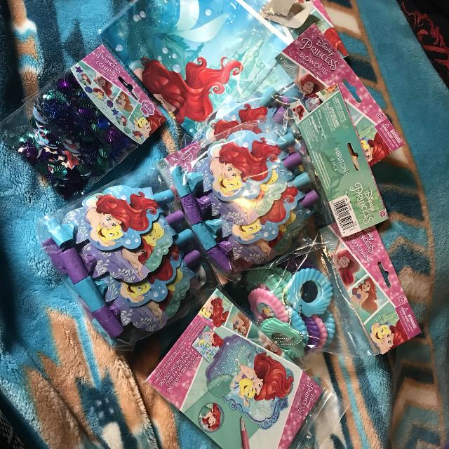 Find More Little Mermaid Party Stuff For Sale At Up To 90 Off