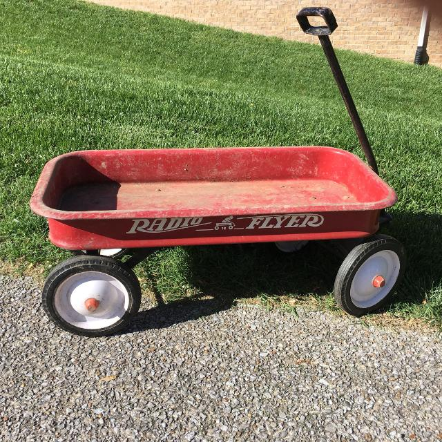 Find More Old Radio Flyer Wagon For