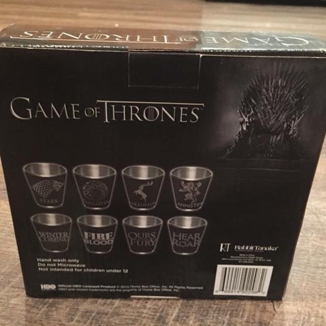 b9db627d3e8f Best Game Of Thrones Shot Glasses. Brand New. for sale in Enterprise ...