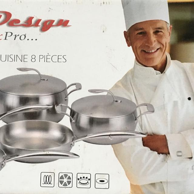 Find More Eurodesign Maxpro Cookware Set For Sale At Up To 90 Off