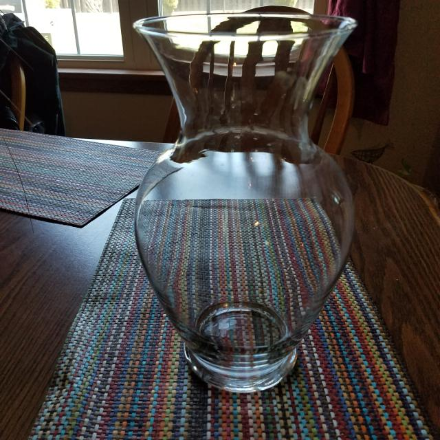 Best Large Clear Flower Vase Or Betta Fish Oh For Sale In Erie