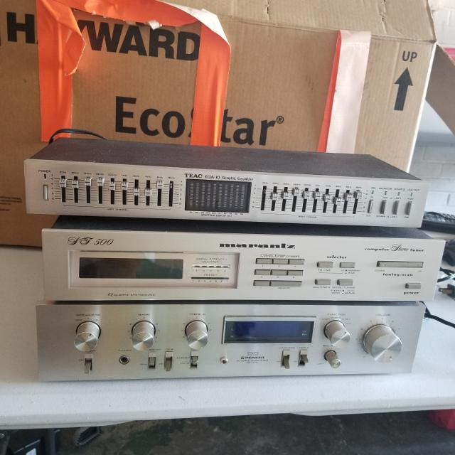Vintage Stereo Equipment (Will Bundle or Sell Separately)