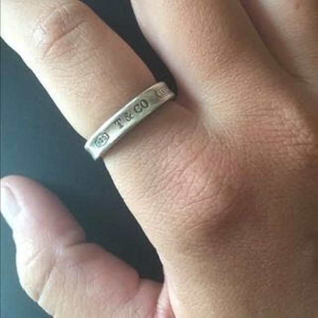58e6f6748 Find more Authentic Tiffany & Co 1837 Ring for sale at up to 90% off
