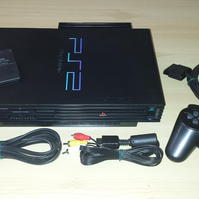 Modded PS2 Console with Classic Console Emulators & More