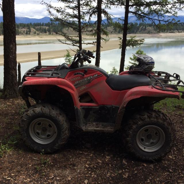 Best 2014 yamaha grizzly 700 quad 4x4 for sale in airdrie for 2014 yamaha grizzly 700