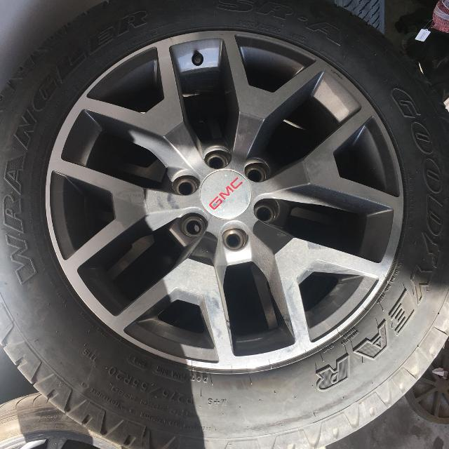 Find More Gmc All Terrain 20 Rims With 275 55r20 Goodyear Wranglers