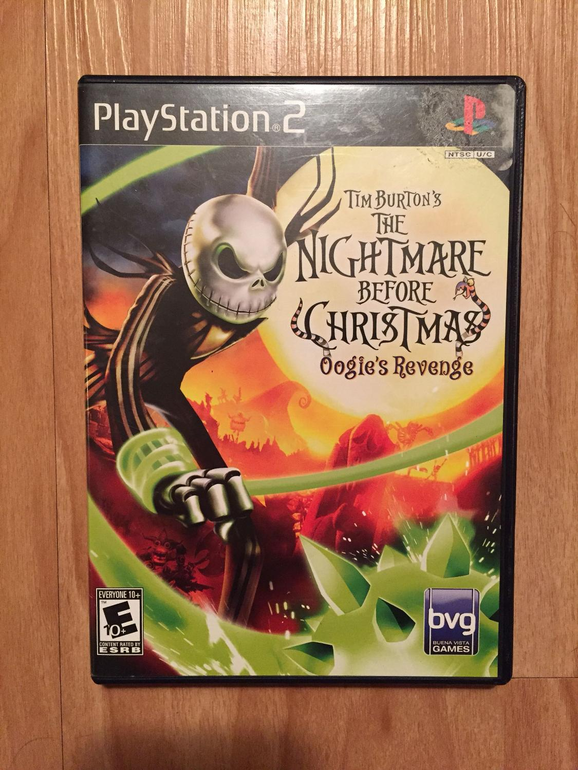 Find more Ps2 The Nightmare Before Christmas Oogie\'s Revenge for ...