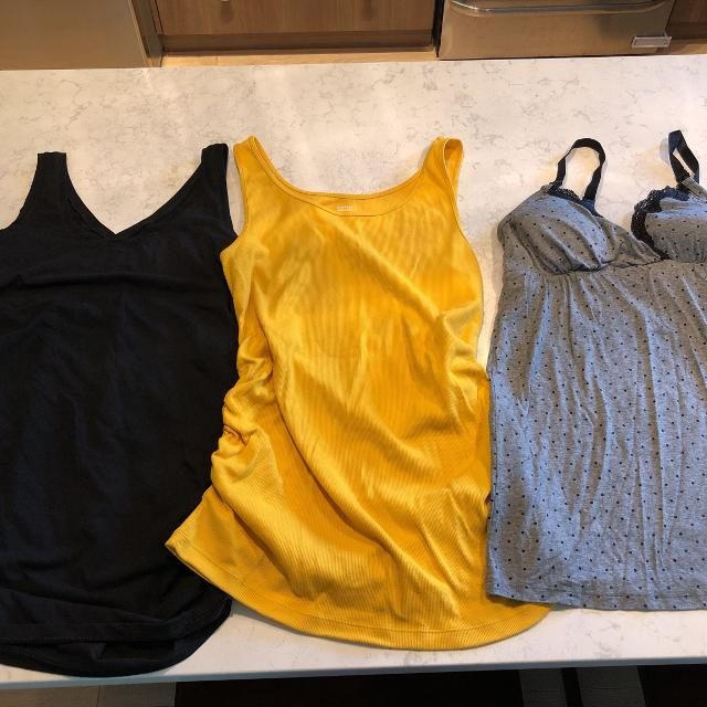 dfcf38fa44c Find more Maternity Tops - Size Large. Euc (all Only Worn Once) for ...