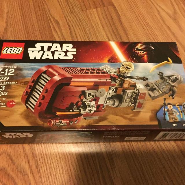 Best Lego Star Wars Reys Speeder Set 75099 For Sale In Oshawa