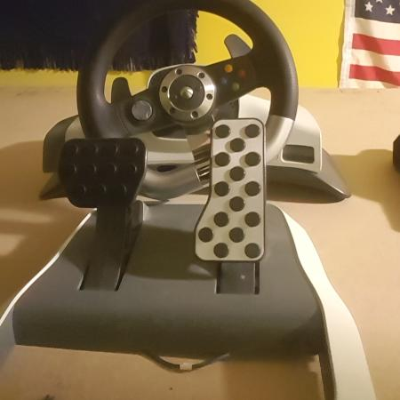Xbox 360 brand steering wheel and... for sale  Canada