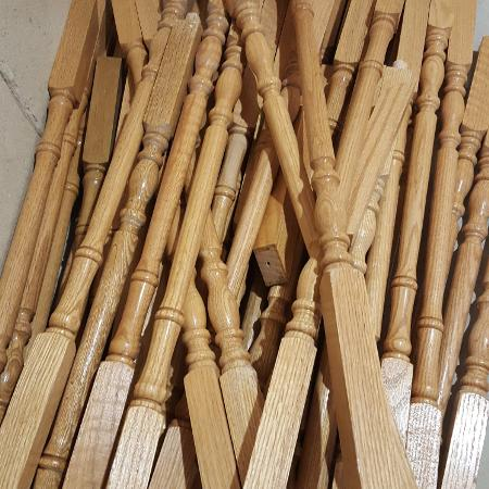 Oak spindles for sale  Canada