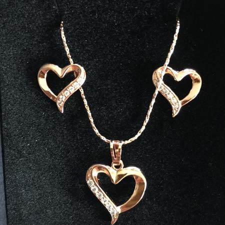 Valentine's Day: Rose gold plated... for sale  Canada