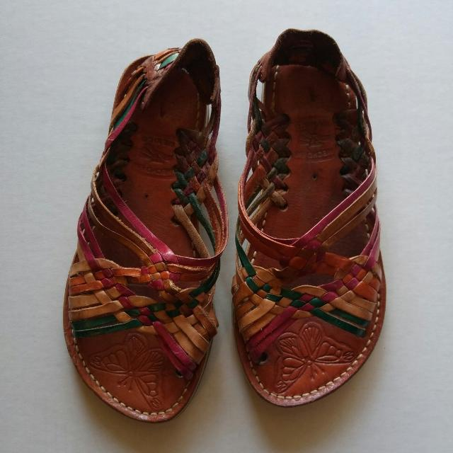 14dc667c3e39d Best Girls- Mexican Huaraches  Sandals - Size 1 - Leather for sale in  Hemet