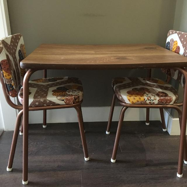 Find More Vintage Kids Table Chairs 50 Firm For Sale At Up To 90 Off