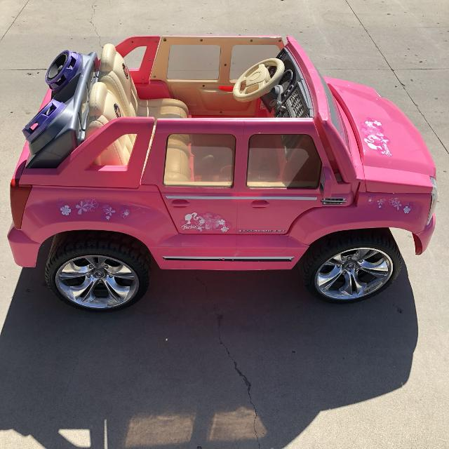 find more power wheels barbie cadillac escalade for sale at up to 90 off power wheels barbie cadillac escalade