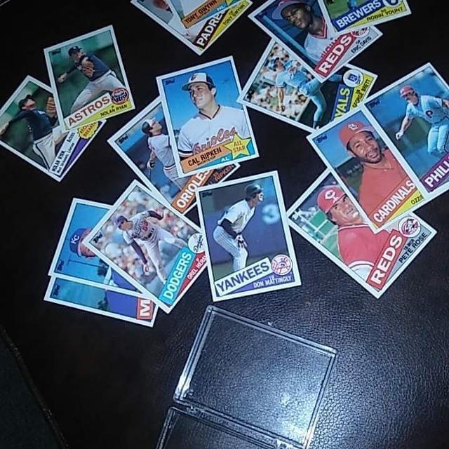 1985 Topps Baseball Card Lot For Sale 1000 Or Best Offer