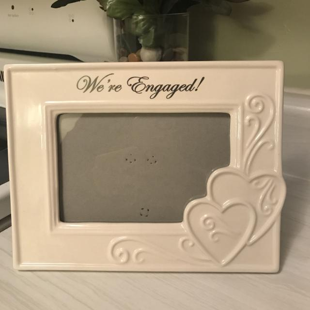 Best We\'re Engaged Picture Frame for sale in Peoria, Illinois for 2018