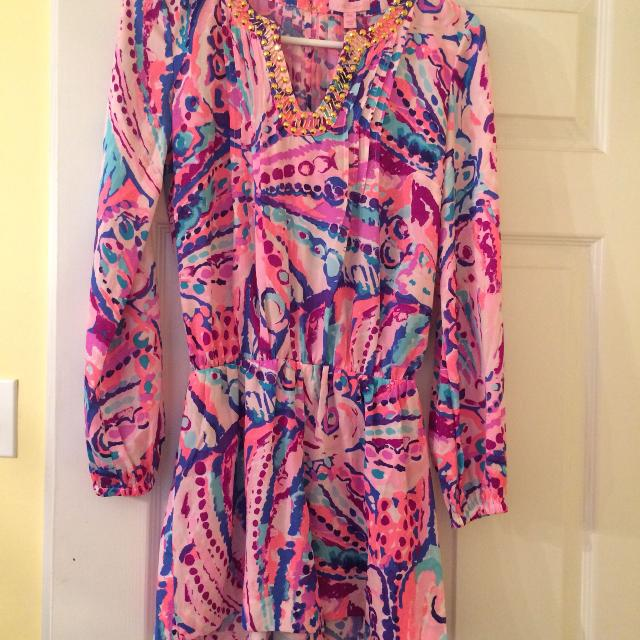 a26cb9fb8f50 Find more Brand New Lilly Pulitzer Colby Romper 00 0 2 Size Xxs ...