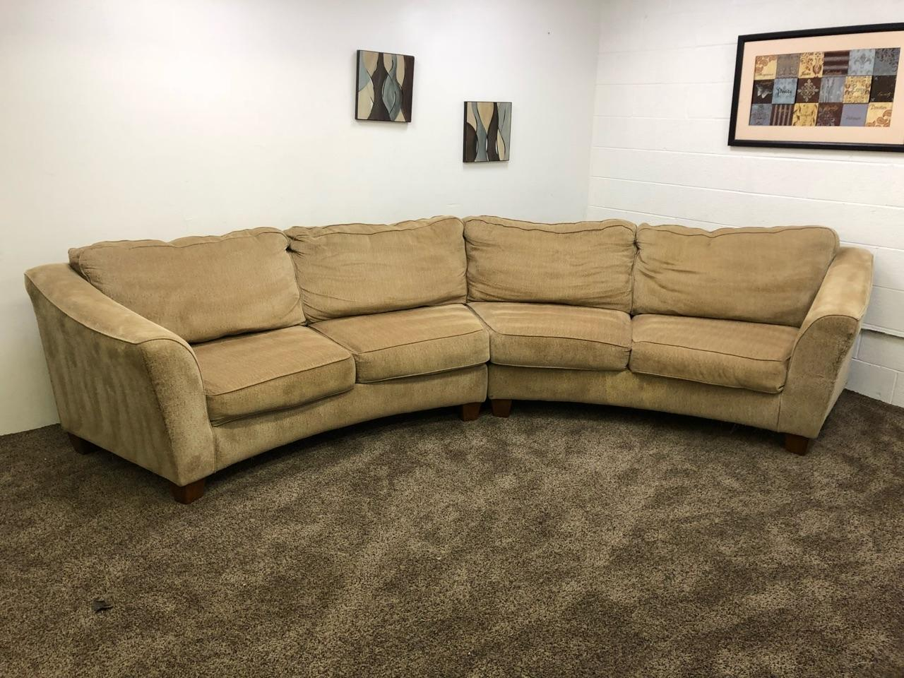 Brown Chenille Sectional Sofa Coffee Tables Ideas