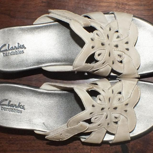 12ec7e6c3ce Best Clarks Bendables Leather Butterfly Sandals Size 10 for sale in  Victoria