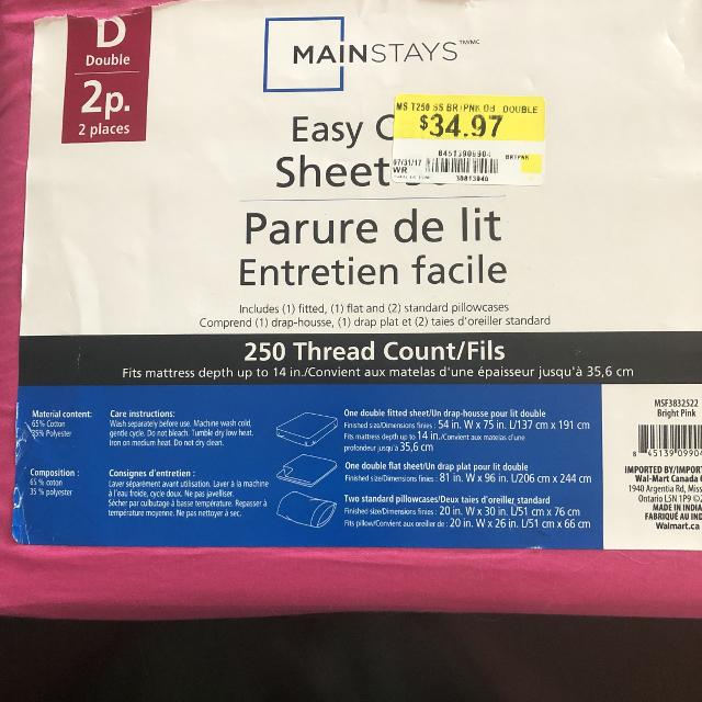 Find More Hot Pink Double Full Bed Sheets Brand New For Sale At Up