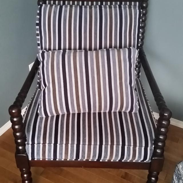 Best Barley Twist Accent Chair For Sale In Calgary