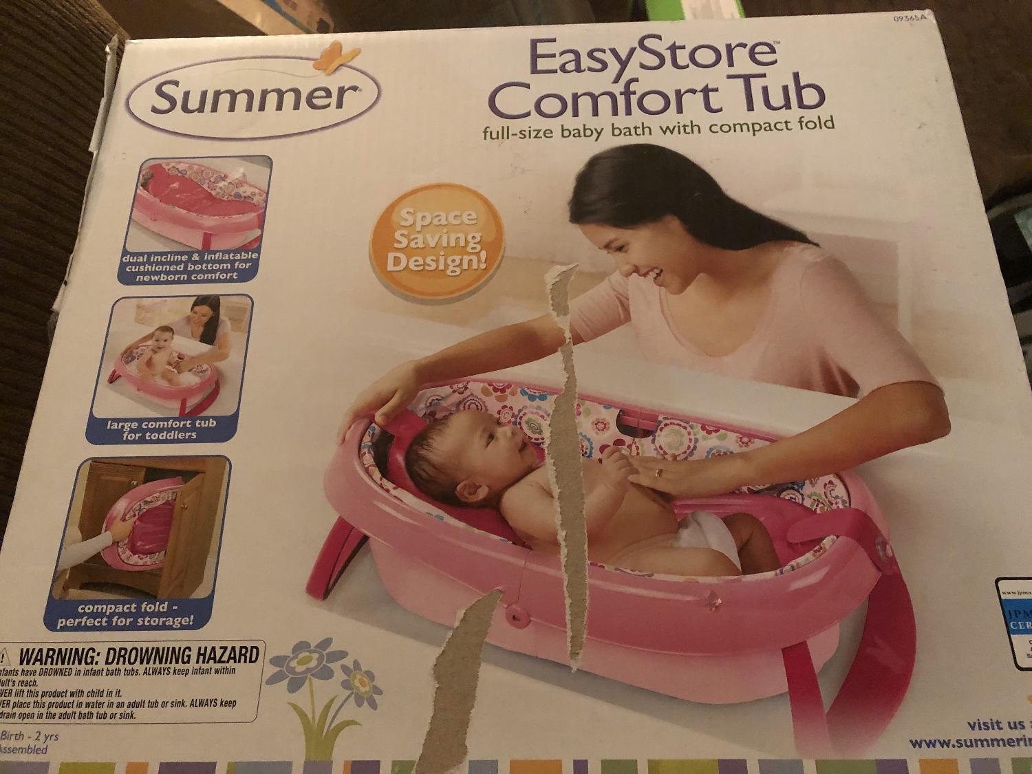 Find more Summer Infant Easy Store Comfort Tub for sale at up to 90 ...