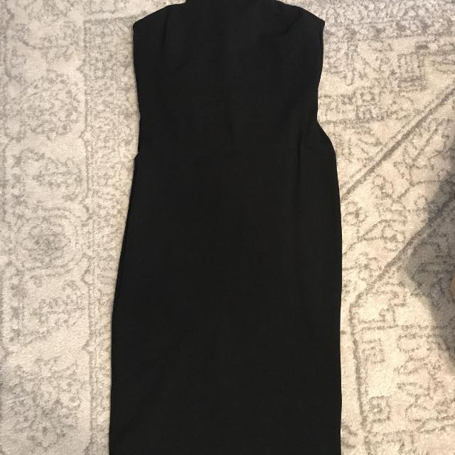 Find More Euc Gianni Bini Strapless Black Dress Xl For Sale At Up To