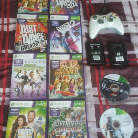 Used, Xbox 360 games , hard drive for sale  Canada