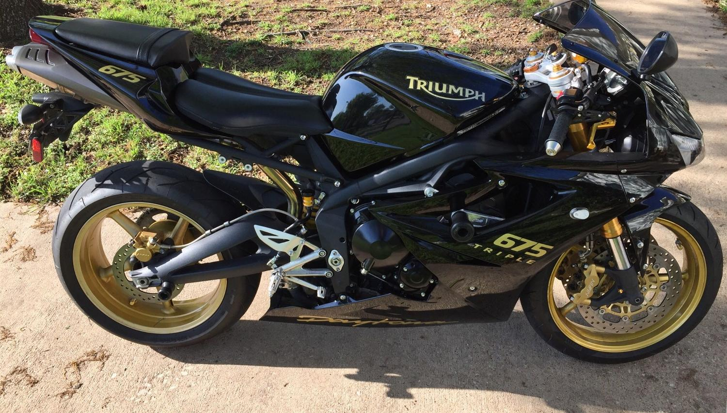 Best 2008 Triumph Daytona 675 For Sale In Durant Oklahoma For 2019