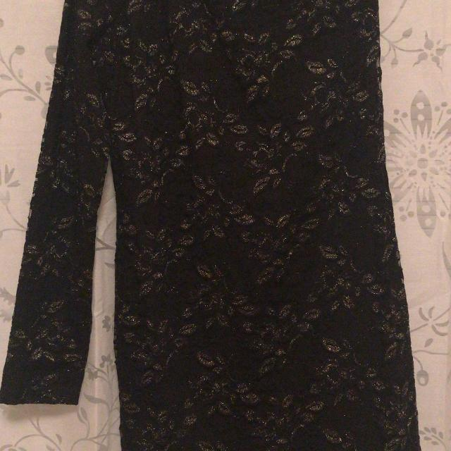 Best Forever 21 Black And Gold Floral Dress For Sale In Victoria