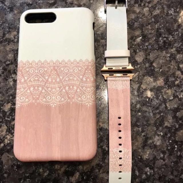 best service 18016 0960e Matching iPhone 7 or 8 plus case and Apple Watch 42 mm band