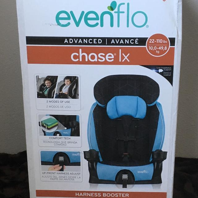 NEW EVENFLO CHASE LX HARNESS BOOSTER SEAT BABY ACCESSORIES