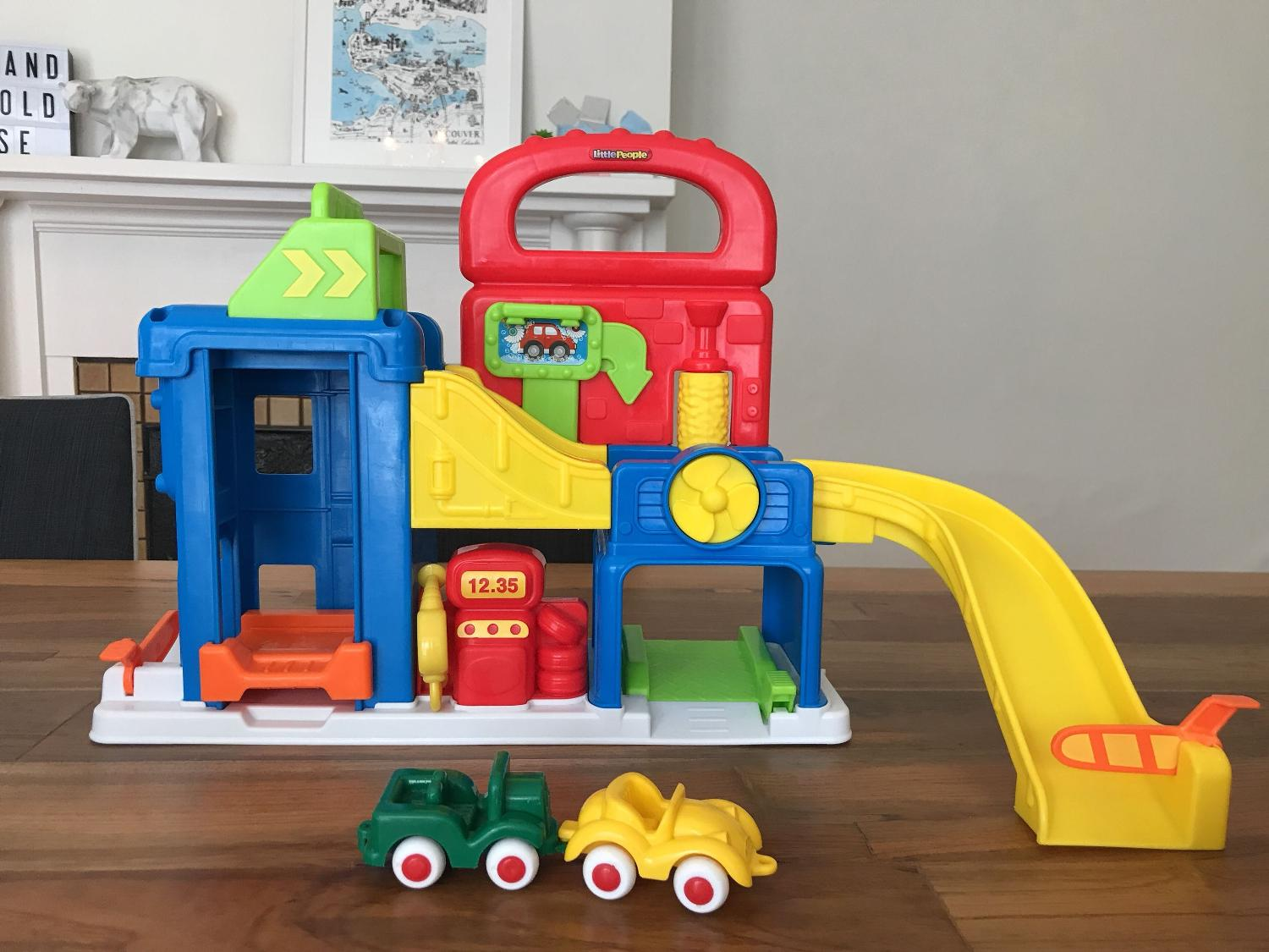 Find More Little People Car Wash And Garage Playset For Sale At Up