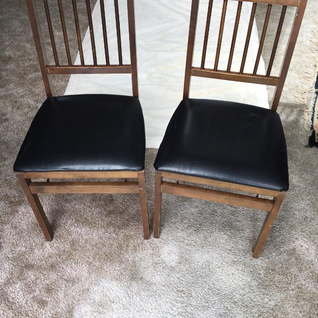 Stakmore Folding Chairs Vintage.Vintage Stakmore Folding Chairs 2