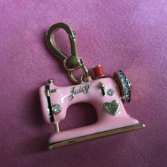 Find More Juicy Couture Pink Sewing Machine Charm Euc Reduced Awesome Juicy Couture Sewing Machine Charm