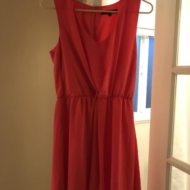 dc1545797358 Find more Euc Coral Summer Dress for sale at up to 90% off ...