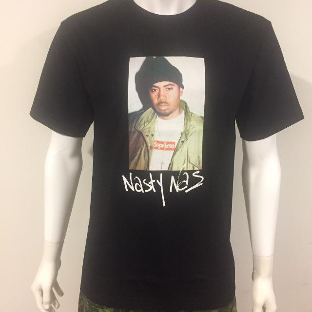 883a9e20e Best Supreme Nasty Fw17 Nas Tshirt Black Box Logo Men's Sz.m (new) for sale  in Regina, Saskatchewan for 2019